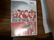 Disney Sing It High School Musical 3 Senior Year Wii